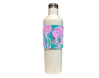 Custom Tumbler, Stemless Wine Wraps Jellyfish For Corkcicle, Yeti, RTIC, Swig, CamelBak & Hydroflask
