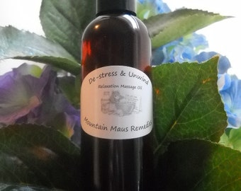 De-Stress and Unwind Massage Oil