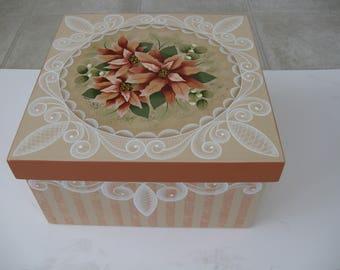 Decorative Painted box