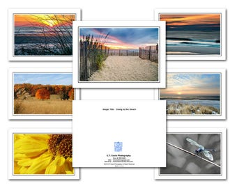 Photography Note Cards, Choose from my Note Card assortment to Create your own Set, Mix and Match Blank photo cards