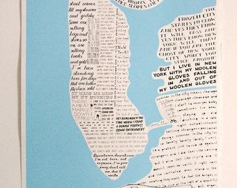 Reginapolis Map - New York city through Regina Spektor lyrics