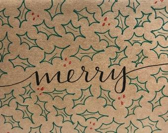 Handmade Christmas cards, Holiday greeting cards, Christmas cards