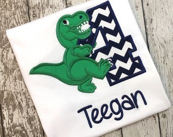 Dinosaur Birthday Shirt, Dino Birthday Shirt, Dino Shirt, Dinosaur Shirt, Dinosaur Number Shirt, Birthday Shirt, 4th Birthday Shirt,