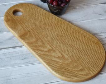 Solid Sassafras Wood Cutting Board