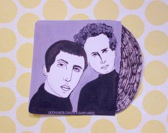Simon and Garfunkel Bookends Sticker