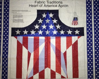4th of July Apron   make - it - yourself craft panel