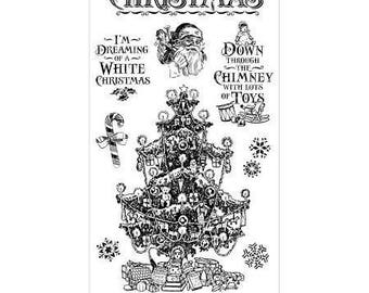 Graphic 45 Cling Stamps - St. Nicholas 2