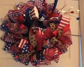 """26"""" Patriotic Wreath"""