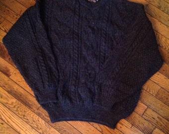 Mens Acorn Great Britain Pre New Wool Sweater Sz M