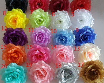 Wedding event supplies artificial flowers by handcraftsinstudio silk flower heads wholesale silk roses heads 100 flowers 10cm for flower wall kissing balls wedding arrangement flower supplies cj 10c100 mightylinksfo