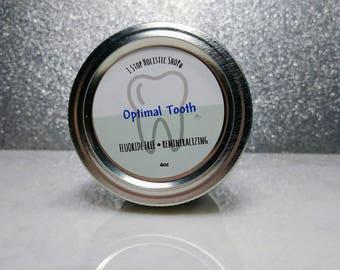 Optimal toothpaste