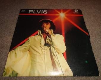 Vintage ELVIS record Youll never walk alone-vinyl- vinyl record- vintage vinyl- records--