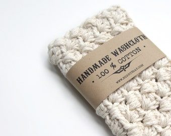 WASHCLOTH Crochet Washcloth Cotton Washcloths Hostess Gift Housewarming Gift For Her Bath Accessories Wash Cloth Bath Accessory Mom Gifts