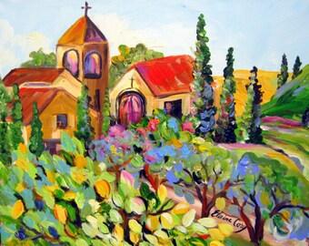 Original painting Landscape painting 16 x 20 Art by Elaine Cory