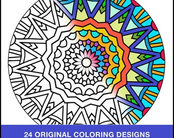 Art Therapy Coloring Books
