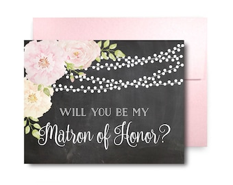 Will You Be My Bridesmaid Card Bridesmaid Maid of Honor Gift Will You Be My Maid of Honor Matron of Honor Brides Man Flower Girl #CL170