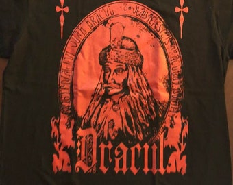 Count Dracula Vlad The Impaler Seal Red Ink shirt