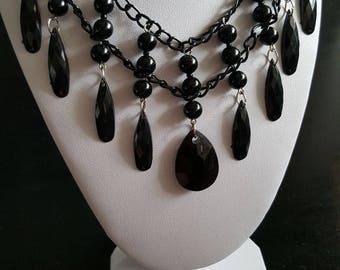 Handmade gothic victorian necklace