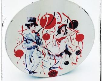 1950s turno noisemaker - mano