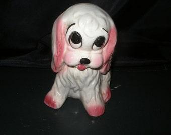 Puppy Planter Dog Planter Vintage