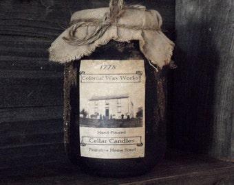 Primitive  Jar Candles  16 oz