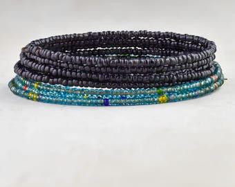 Boho Bracelet, Boho Bead Bracelet, Bohemian Jewelry, Wrap Bracelet, Bead Bracelet, Bohemian Bracelet, Womens Bracelet