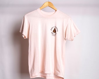 vintage CRATER of DIAMONDS park ARKANSAS pink faded t-shirt vintage 80s top