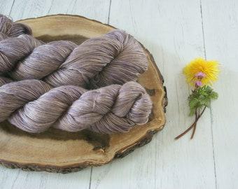Silk Camel 4 Ply Yarn 100g - Sock Shawl Cowl - hand dyed