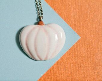 Make Your Own Jack-O-Lantern Necklace: Lumina Pumpkin