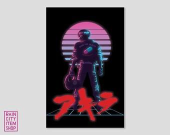 AKIRA - 80's Inspired Poster