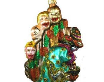 Halloween Christmas Vintage Ornament From Poland