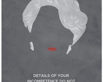 The Devil Wears Prada Minimalist Poster