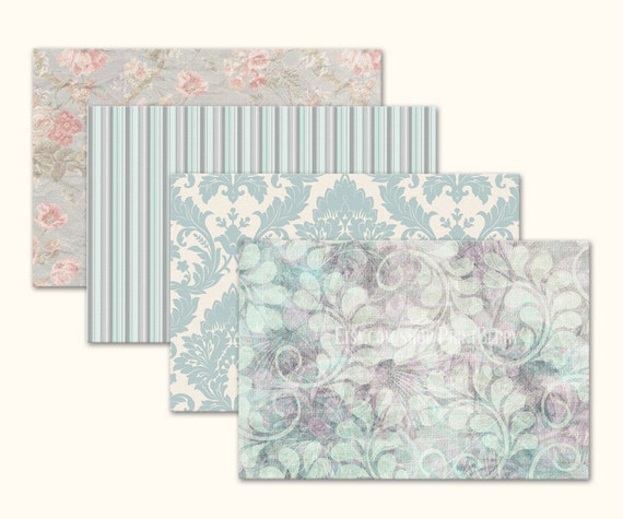 X Envelopes Printable Envelope Template Pastel Floral