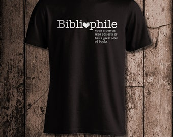 Bibliophile | Men's tee | Perfect for a book lover