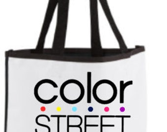 Color Street Two Tone Tote Bag