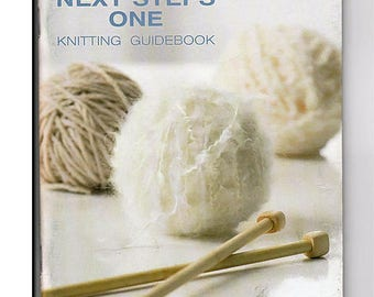 Next Steps One Knitting Guidebook and Pattern Booklet Patons 500836