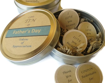 Gift Dad Birthday, Best Dad Card, Father's Day Card, I love you Dad, Gift Dad, Happy Father's Day, Reasons I Love you