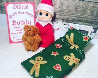 Baby Elf Buddy The Shelf Sitter Doll