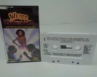 Weird Science Soundtrack OST 1985 Cassette Tape