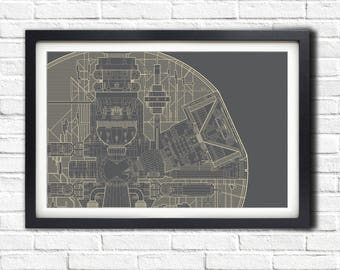 Star Wars - DEATH STAR PLANS - 19x13 Poster