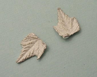 grape leaves sterling silver castings jewelers supplies UL013-2