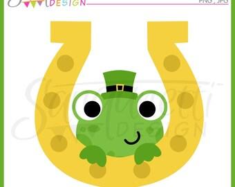 st patricks clipart, irish clipart, st patricks clip art, frog clipart, spring clipart, st patrick clipart, instant download