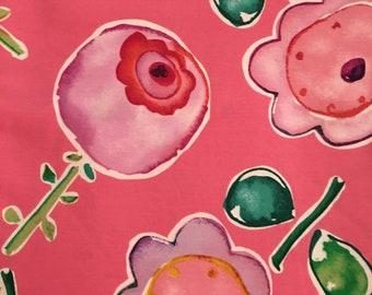 Kathy Davis for Free Spirit. Flower Pops PWKD044  OOP HTF 1 + Yard