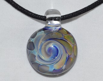 Hand Blown Glass Jewelry - Heady Glass Pendant