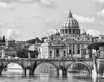 Rome, Italy - Photo Print of St. Peter's Cathedral