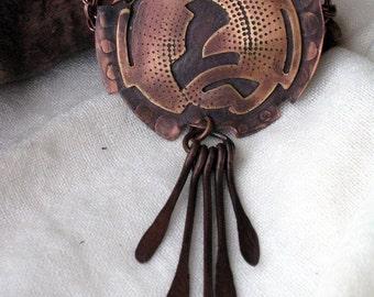 DREAM CATCHER - Original Metalwork Composition - Artisan handmade jewelry