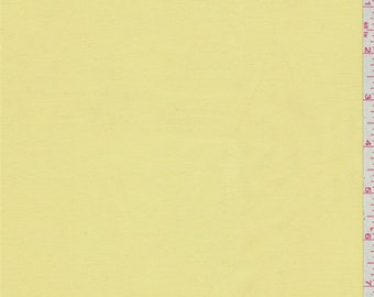 Butter Yellow Shirting, Fabric By The Yard