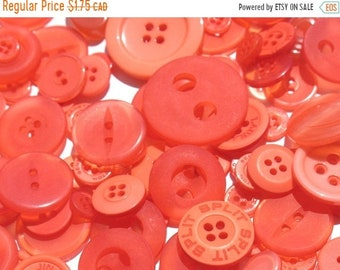 50% OFF - Mandarin Orange - Button Selection