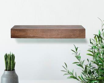 Walnut Floating Shelf