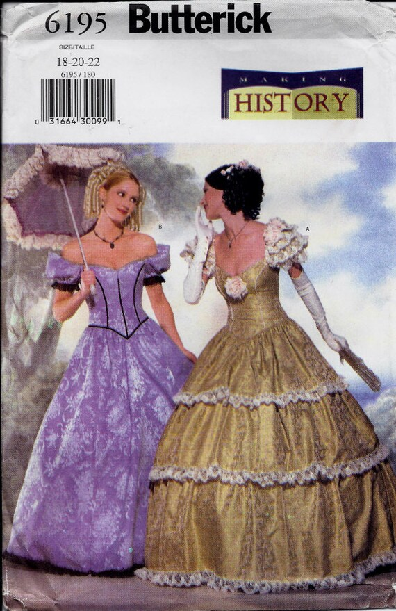 Southern Belle ball gown pattern in Misses\'/Misses\'